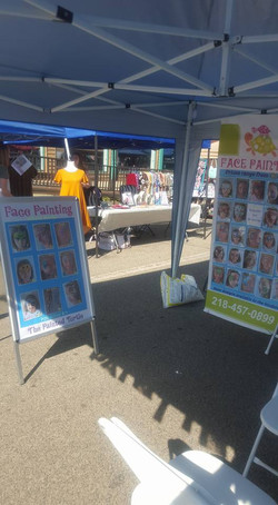 Booth in Frazee