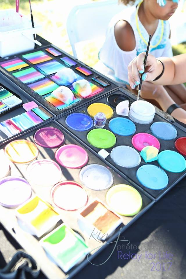 The Painted Turtle Face Paints