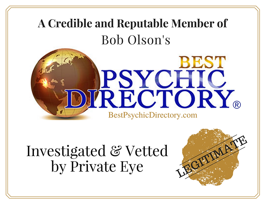 Bob Olson Psychic Directory Approved