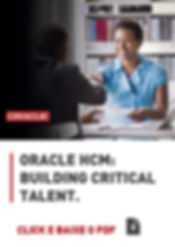 buildinf critical talent oracle medtech