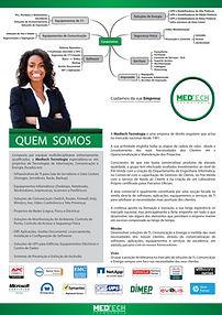 folha apresentaçao medtech tecnologia, angola, luanda, ups, servidores,