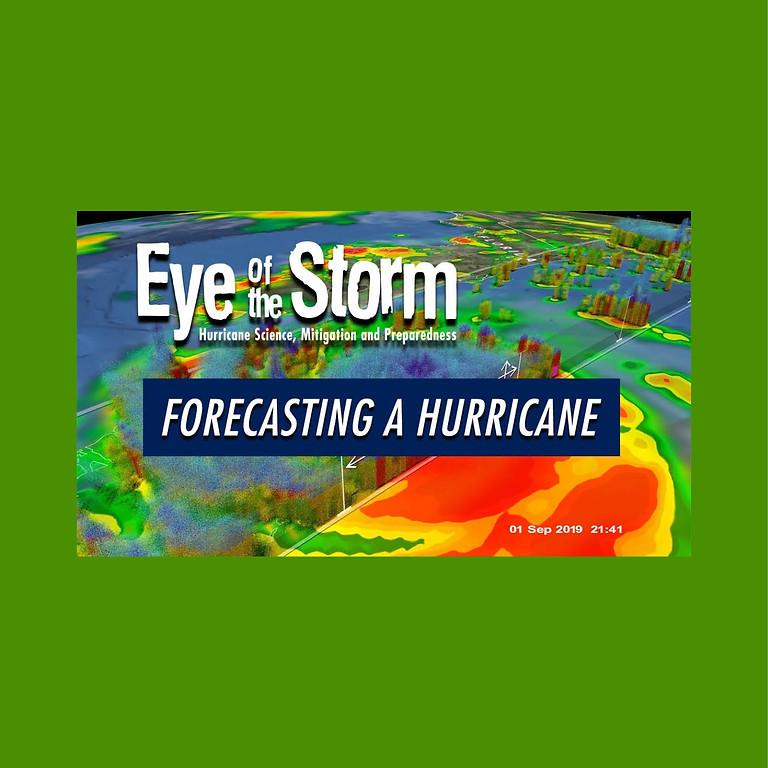 Eye of the Storm: Forecasting a Hurricane