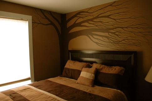 Corner Tree by Jewels Art