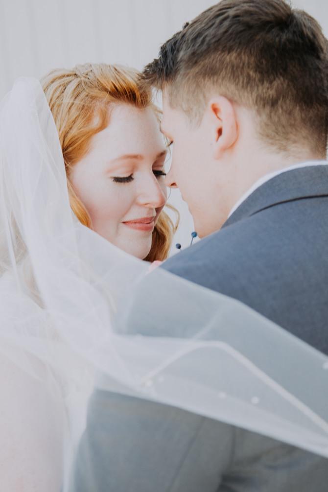 Newlyweds Ashley + Michael