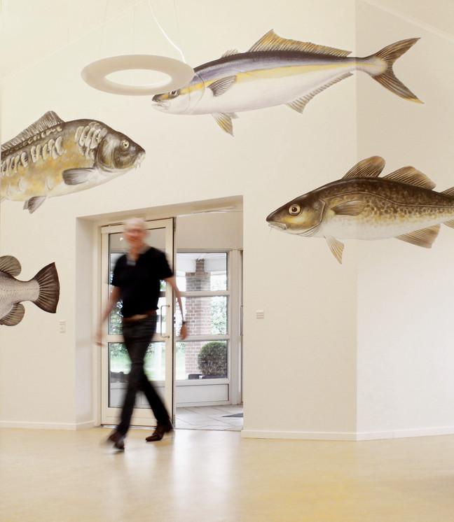 Hos Aller Aqua A/S gik der fisk i den . . .