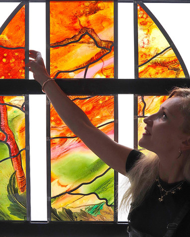 Stained Art Glass for the Home