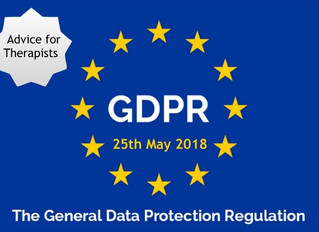 How does the General Data Protection Reform affect Complementary Therapists?