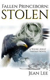 Fallen Princeborn Stolen, Kindle, Jean Lee, Aionios Books