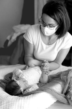 Atelier massage bébé