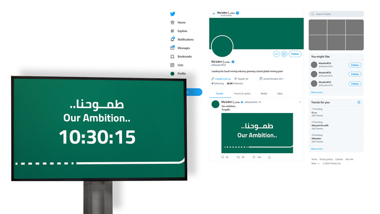 Internal Screen & Twitter pre-launch