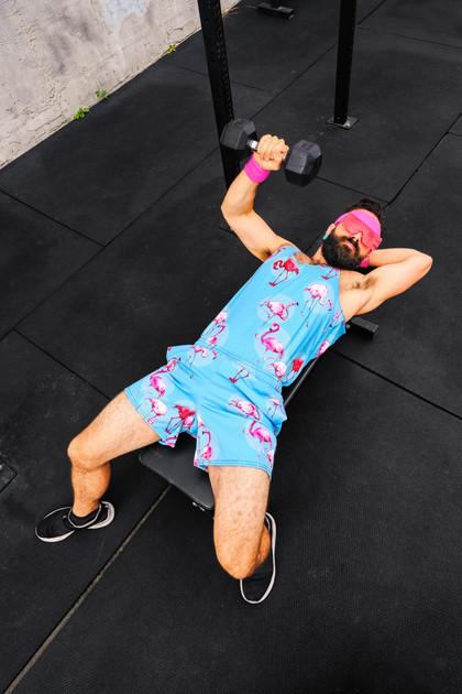 AE Kieren at the gym