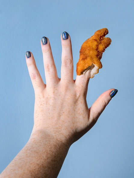 idk about this chicken finger #1