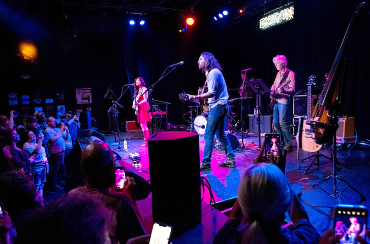 Midnight North and Phil Lesh performing at Exit/In's reopening