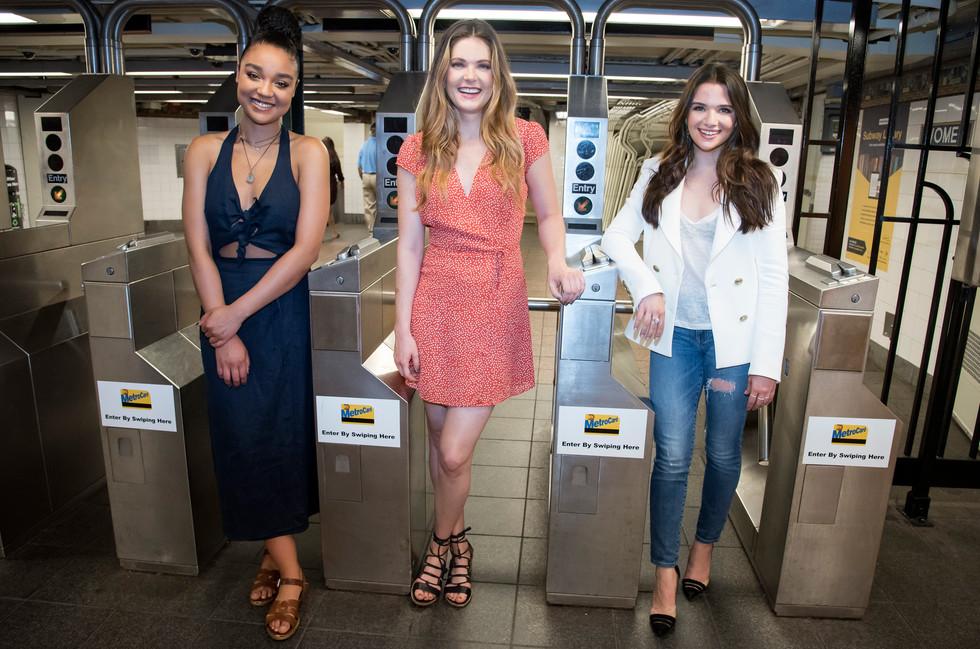 Aisha Dee, Meghann Fahy, Katie Stevens of The Bold Type