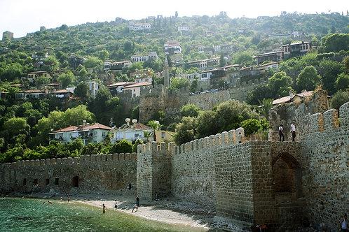 Таунхаус 3+2 на крепости Аланьи