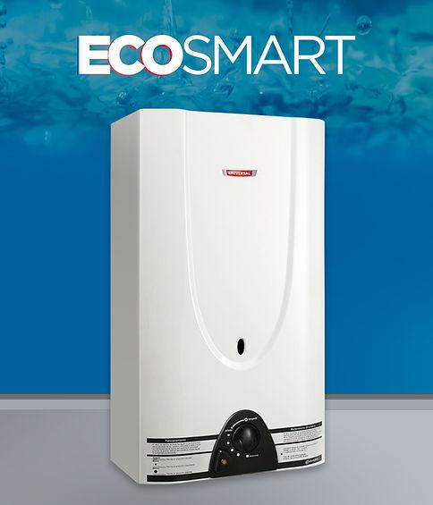 calefón superautomático eco smart 18 litros blanco