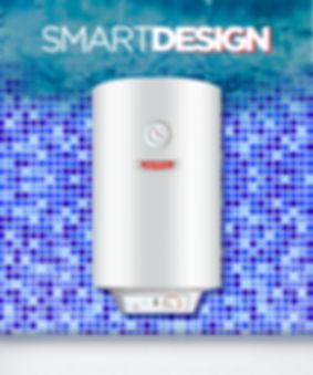 termotanque eléctrico 50 litros smart desing