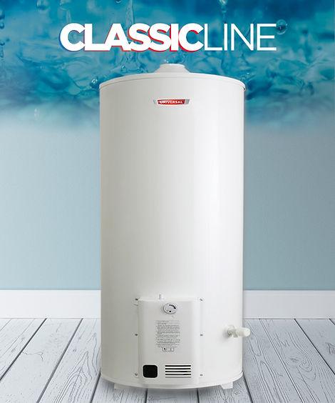 termotanque a gas 120 litros classic line