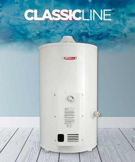 termotanque a gas 55 litros classic line