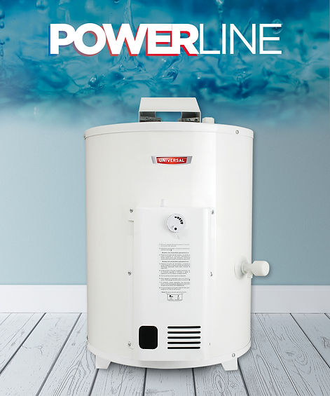 termotanque a gas 33 litros power line