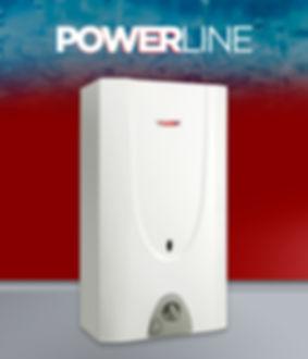 calefón power line 17.5 litros
