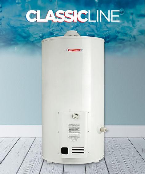 termotanque a gas 80 litros classic line
