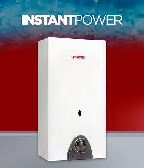 calefón instant power 12 litros