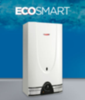 calefón superautomático eco smart 14 litros blanco