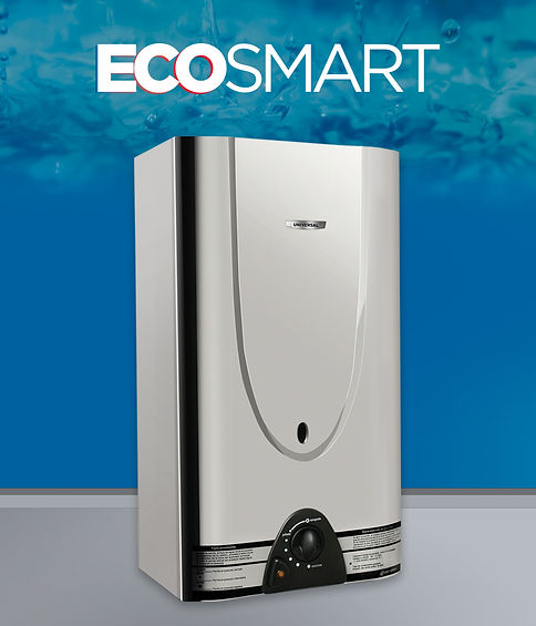calefón superautomático eco smart 18 litros acero