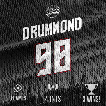 Game week 3 - Have a day Mr. Drummon