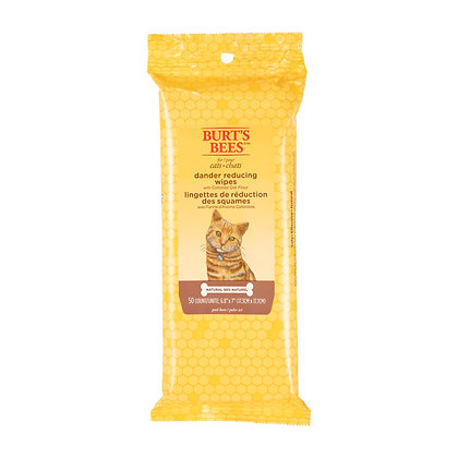 DANDER REDUCING WIPES FOR CATS