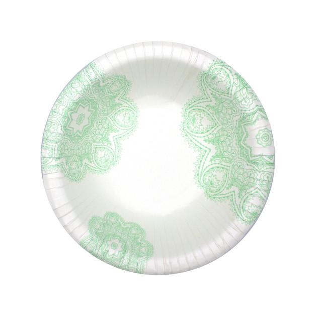 Green Victorian Bowl Design