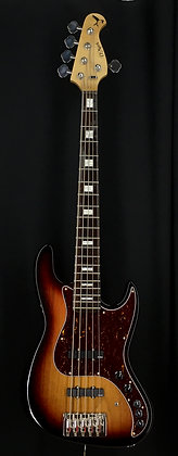 Jazz Bass Sunburst Gold Series