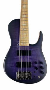 dmark omega bass flamed maple purple
