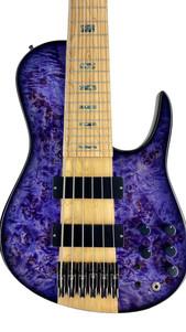 dmark omega bass pioppo purple burst
