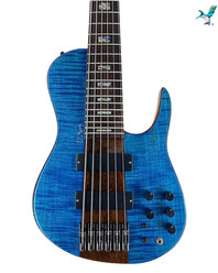 dmark Omega Flamed Maple Blue Bass 6 string.jpeg