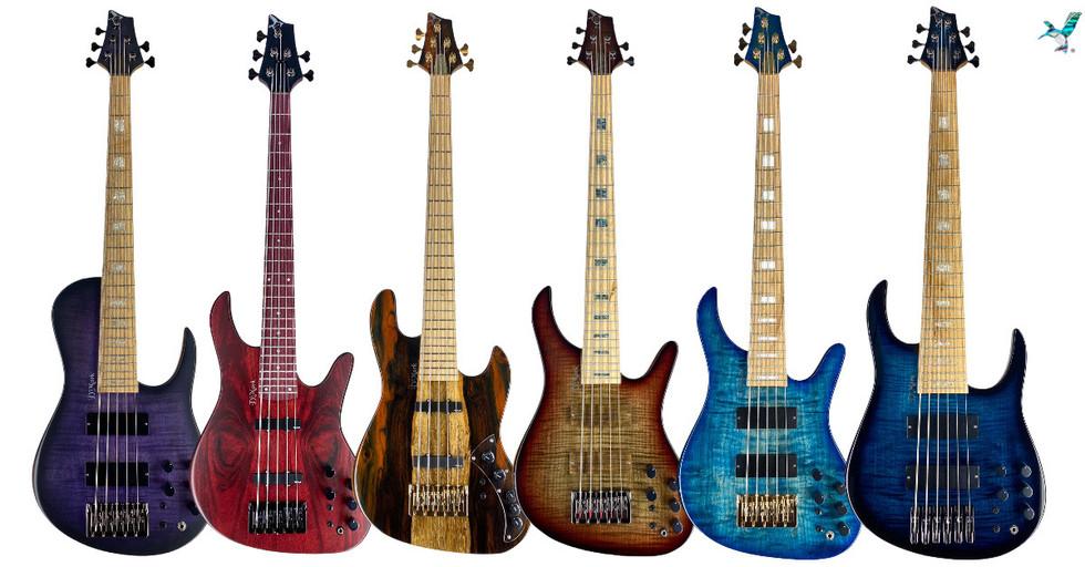 dmark bass guitars