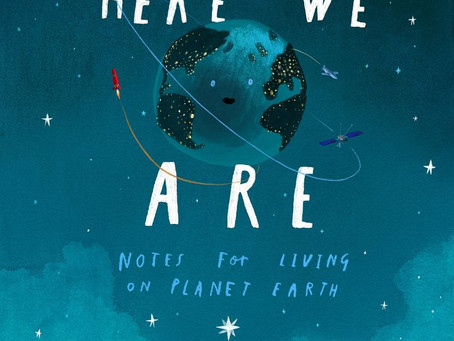 """Book Review:  """"Here We Are""""  by Oliver Jeffers"""