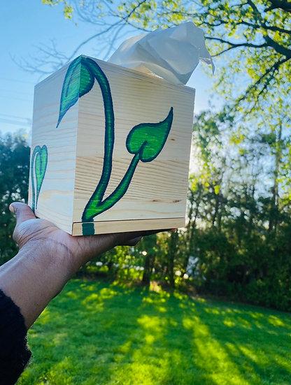 #PlantLife Tissue Box
