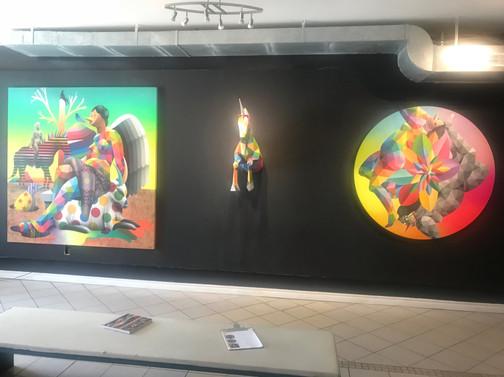 "Okuda San Miguel ""Horses & Muses"""