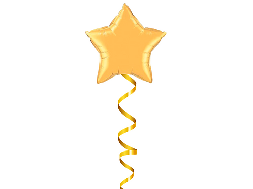 Star Foil Balloon Helium Filled