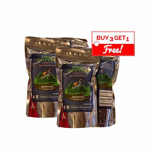 Coffee [BUY 3 GET 1 FREE] Millenial Blend w/25gm Full Spectrum Hemp Oil