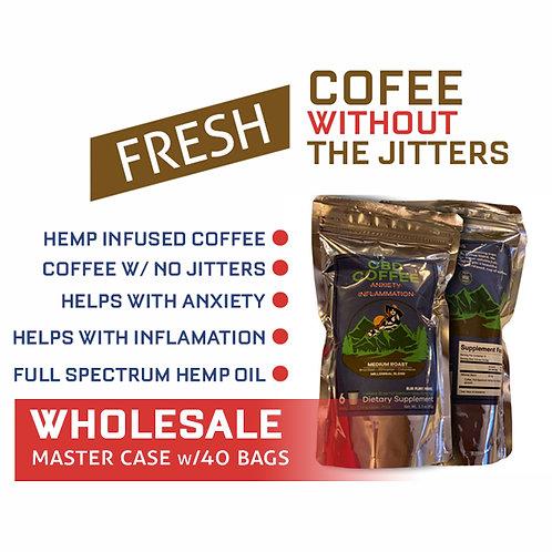 WHOLESALE | Coffee Millenial Blend w/25gm Full Spectrum Hemp Oil