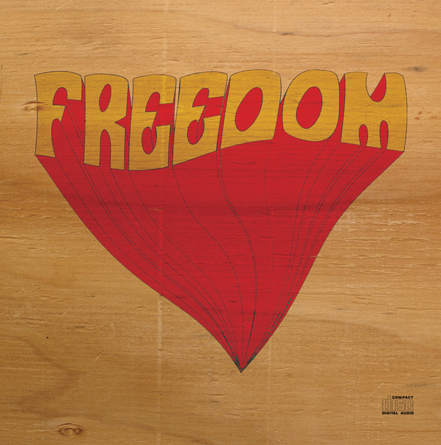 Freedom 'S/T' EP cover