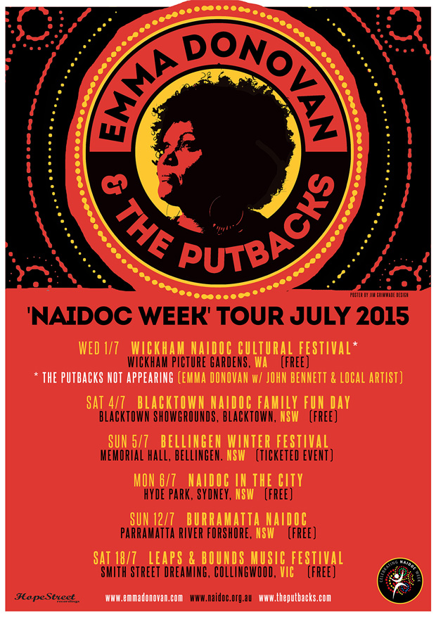 Emma Donovan & The PutBacks poster