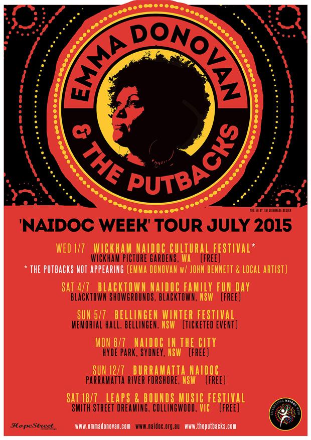 Emma Donovan & The PutBacks poster