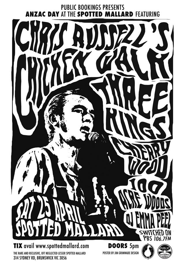 Chris Russell's Chicken Walk poster