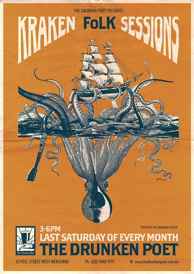 Kraken Folk Sessions poster
