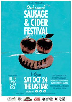 Sausage & Cider Festival poster