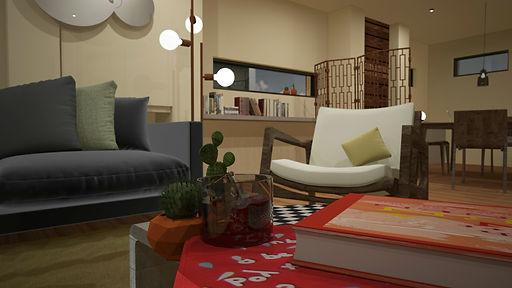 InteriorsLounge/ Dining room